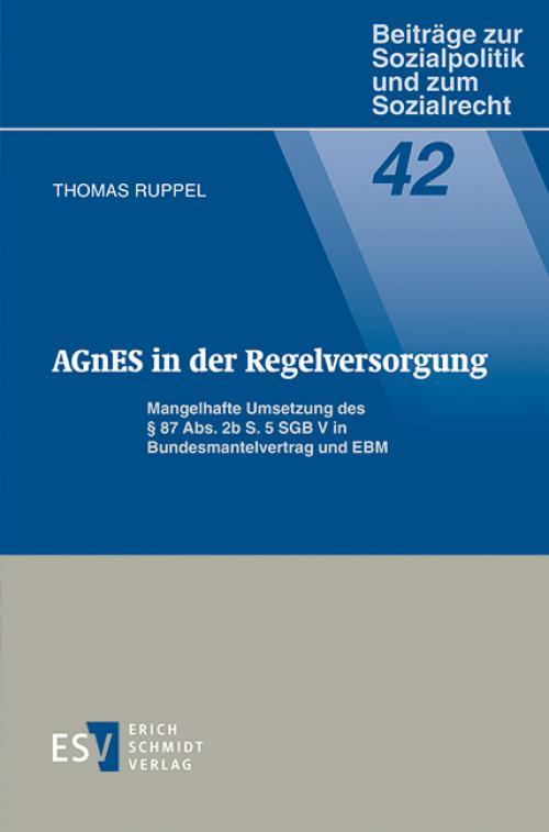 AGnES in der Regelversorgung cover