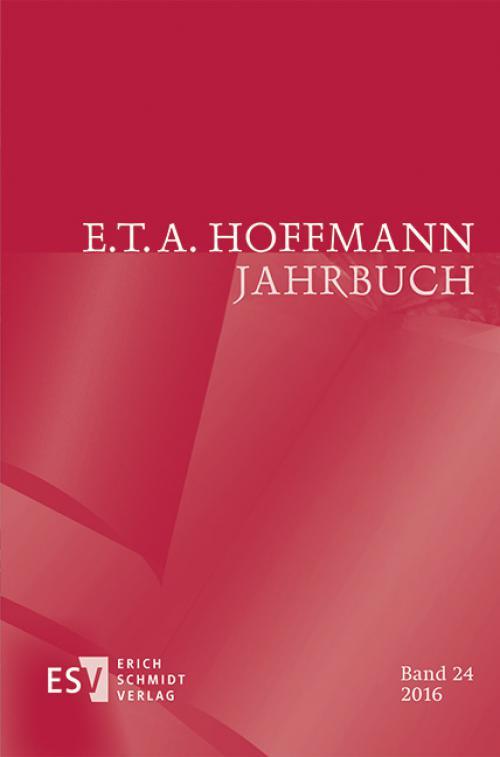 E.T.A. Hoffmann-Jahrbuch 2016 cover