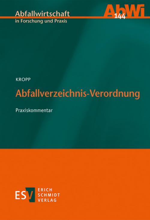 Abfallverzeichnis-Verordnung cover