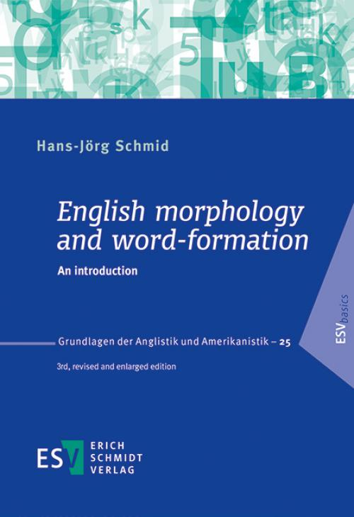 English morphology and word-formation cover