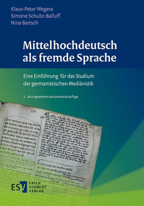 Mittelhochdeutsch als fremde Sprache cover