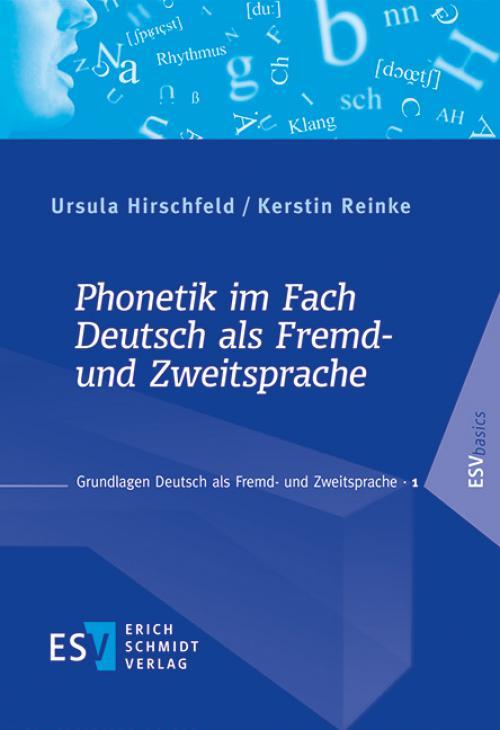 Phonetik im Fach Deutsch als Fremd- und Zweitsprache cover