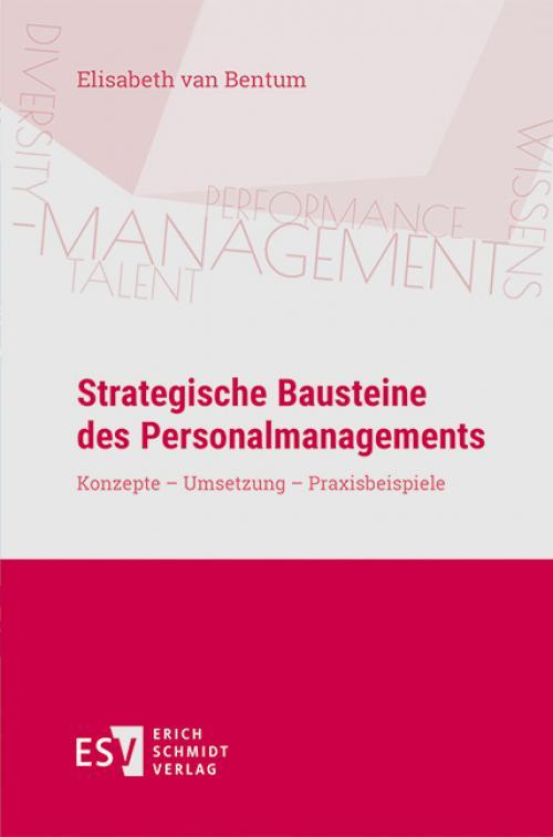 Strategische Bausteine des Personalmanagements cover