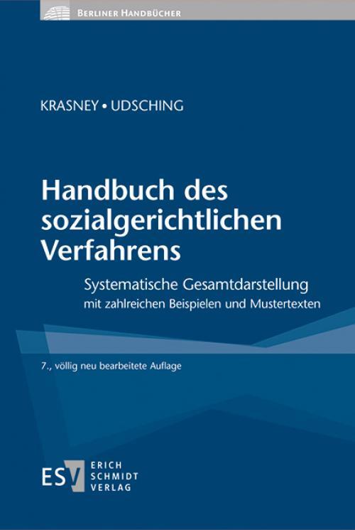 Handbuch des sozialgerichtlichen Verfahrens cover