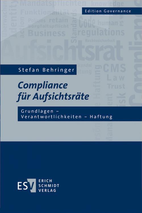 Compliance für Aufsichtsräte cover