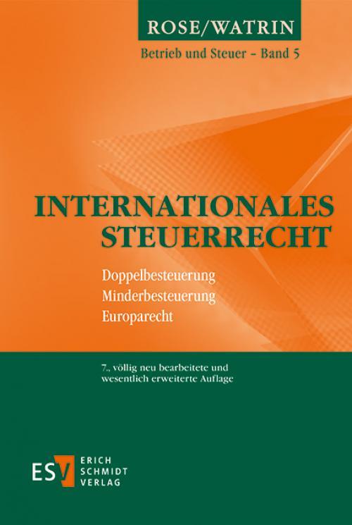 Internationales Steuerrecht cover