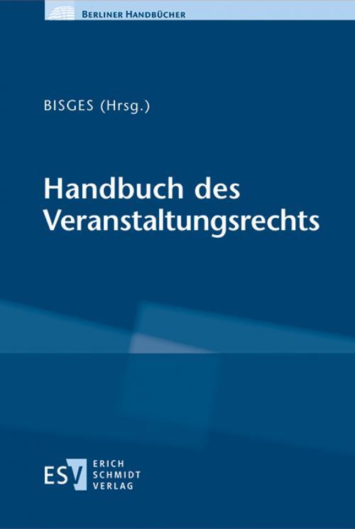 Handbuch des Veranstaltungsrechts cover