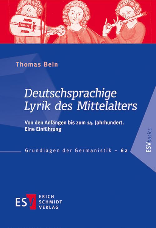 Deutschsprachige Lyrik des Mittelalters cover
