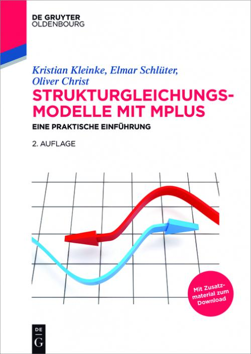 Strukturgleichungsmodelle mit Mplus cover