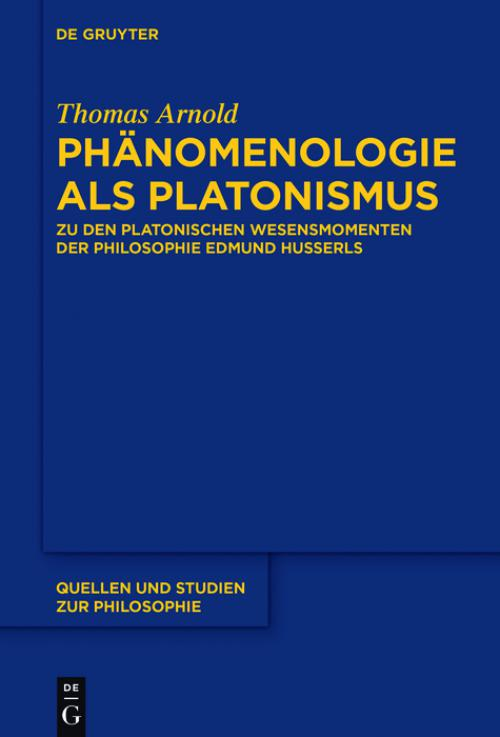 Phänomenologie als Platonismus cover