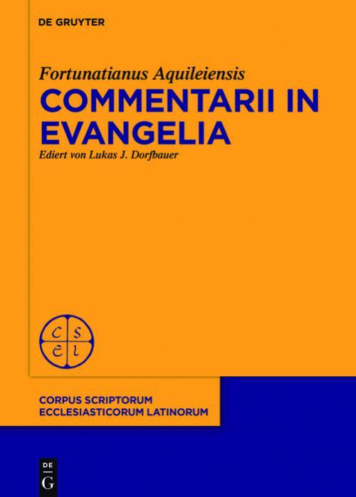 Commentarii in evangelia cover