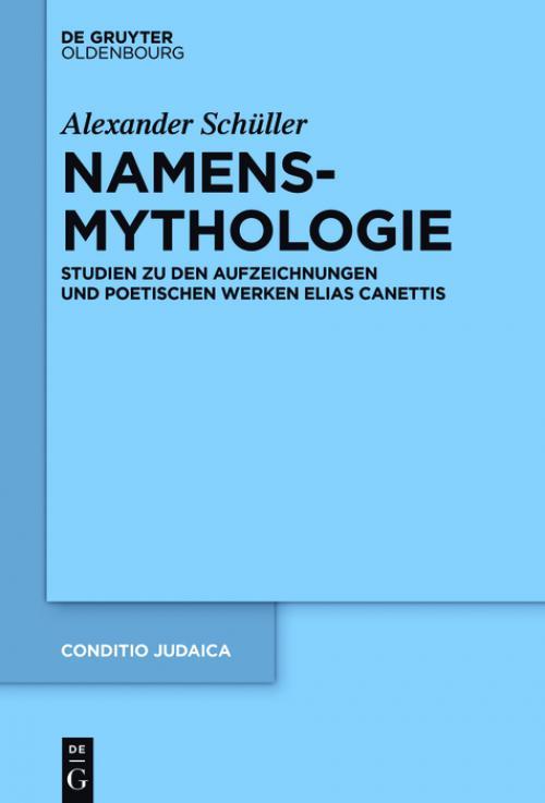 Namensmythologie cover