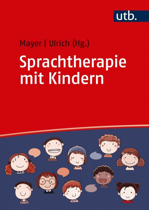 Sprachtherapie mit Kindern cover