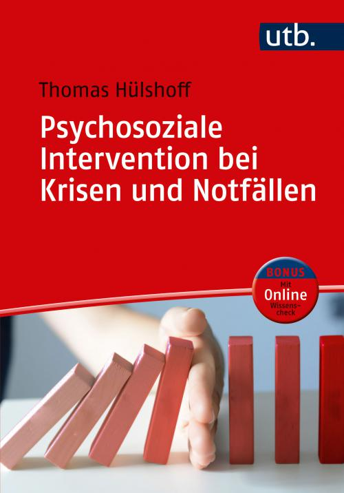 Psychosoziale Intervention bei Krisen und Notfällen cover