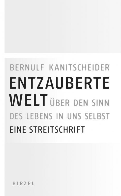 Entzauberte Welt cover