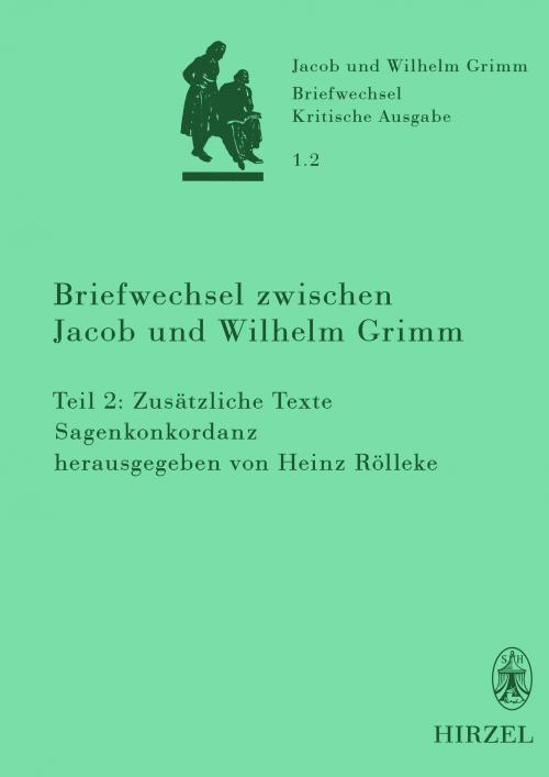 Briefwechsel zwischen Jacob und Wilhelm Grimm cover