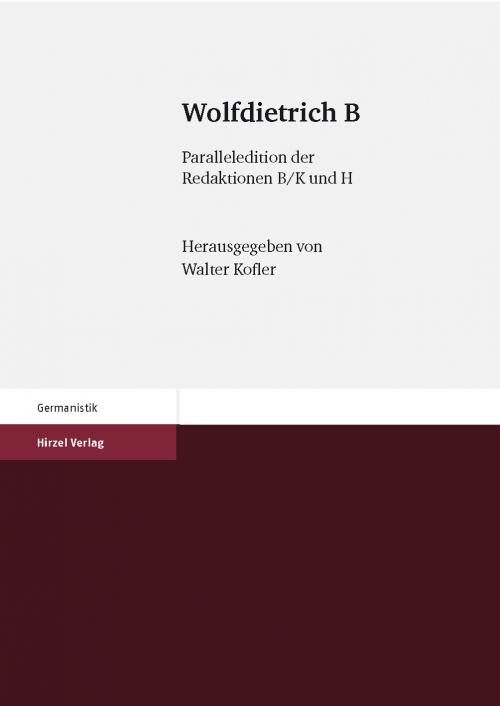 Wolfdietrich B cover