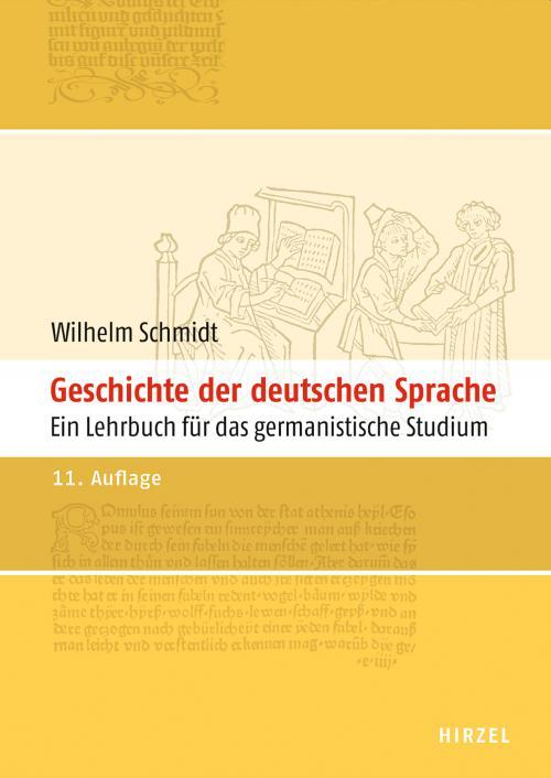 Geschichte der deutschen Sprache cover