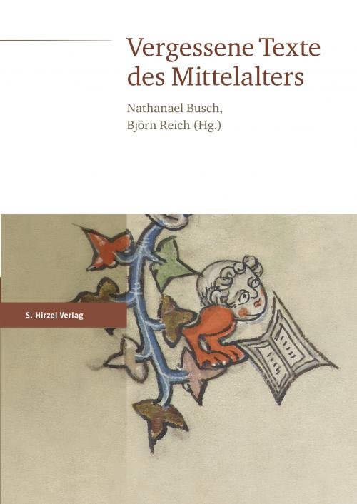 Vergessene Texte des Mittelalters cover