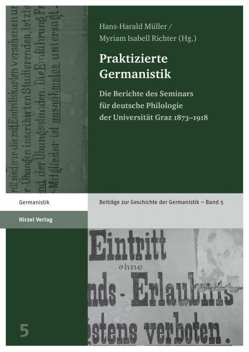Praktizierte Germanistik cover