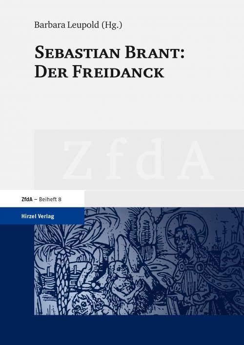 Sebastian Brant: Der Freidanck cover