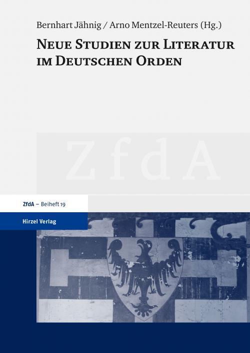 Neue Studien zur Literatur im Deutschen Orden cover