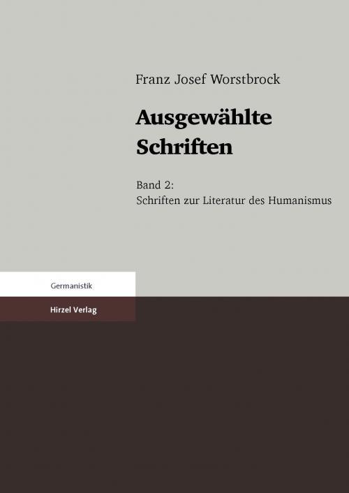 Ausgewählte Schriften cover