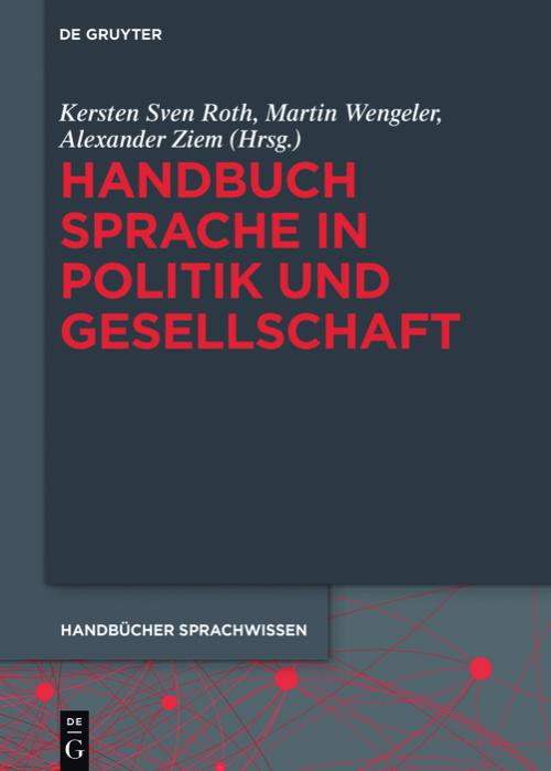 Handbuch Sprache in Politik und Gesellschaft cover