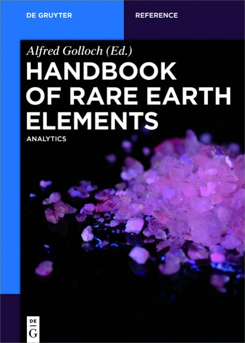 Handbook of Rare Earth Elements cover