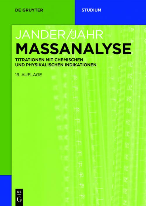 Massanalyse cover