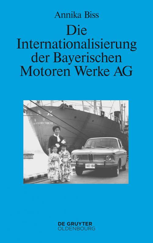 Die Internationalisierung der Bayerischen Motoren Werke AG cover