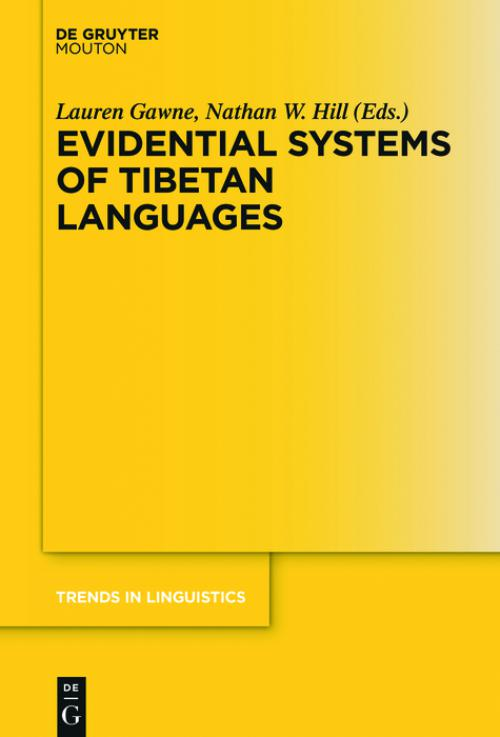 Evidential Systems of Tibetan Languages cover