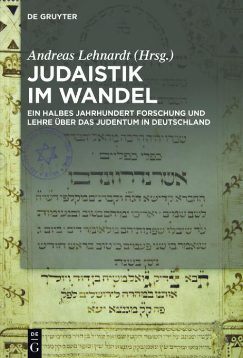 Judaistik im Wandel cover