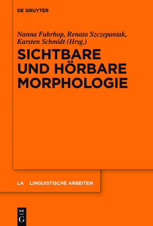 Sichtbare und hörbare Morphologie cover