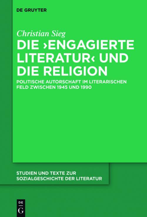 Die 'engagierte Literatur' und die Religion cover