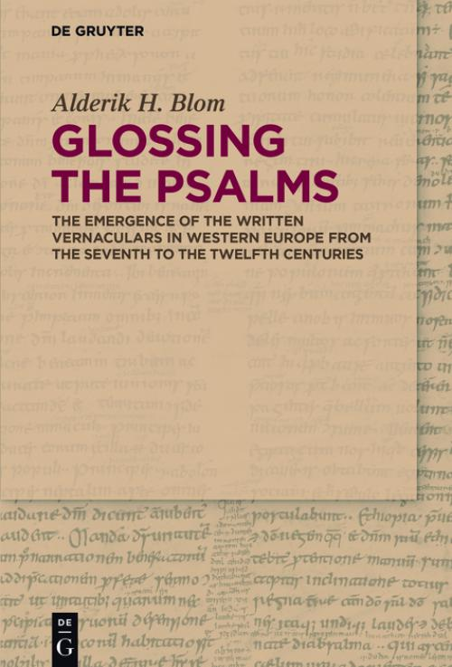 Glossing the Psalms cover