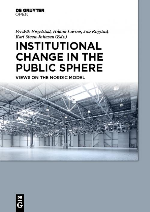 Institutional Change in the Public Sphere cover