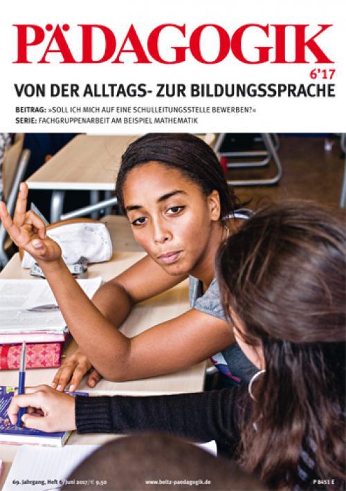 Editorial: Von der Alltags- zur Bildungssprache cover
