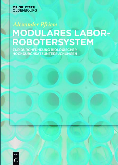 Modulares Laborrobotersystem cover