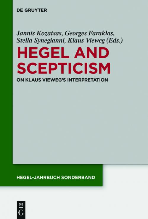 Hegel and Scepticism cover