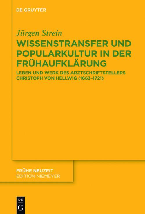 Wissenstransfer und Popularkultur in der Frühaufklärung cover