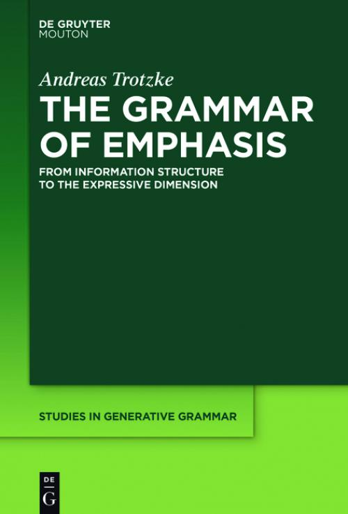 The Grammar of Emphasis cover