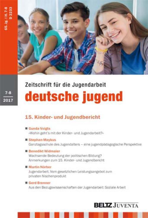 Ganztagsschule des Jugendalters - eine jugendpädagogische Perspektive. cover
