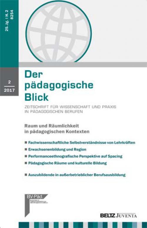 Modes, Marie-Theres (2016): Raum und Behinderung. Wahrnehmung und Konstruktion aus raumsoziologischer Perspektive (Andreas Köpfer und Georg Rißler) cover