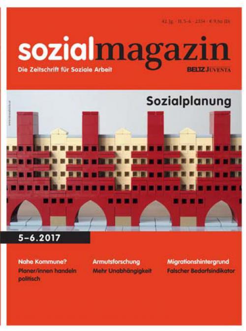 Editorial: Sozialplanung cover