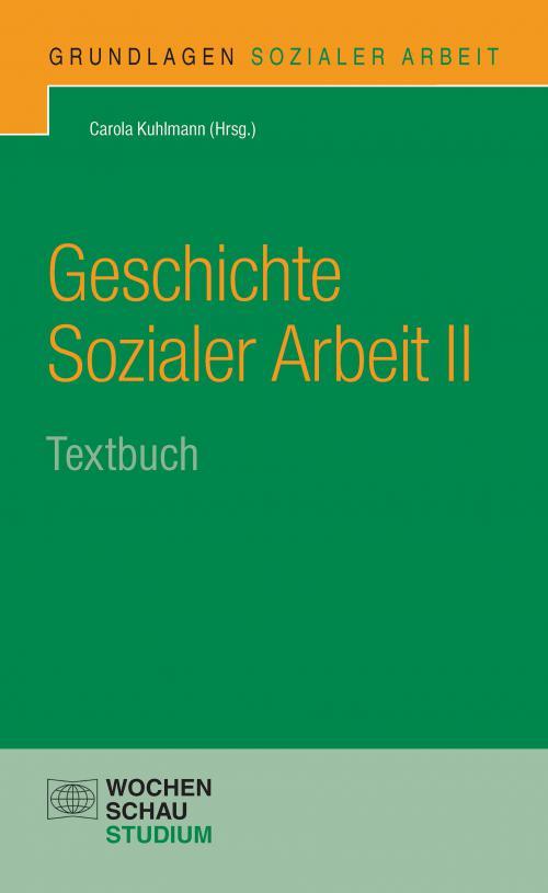 Geschichte Sozialer Arbeit II cover