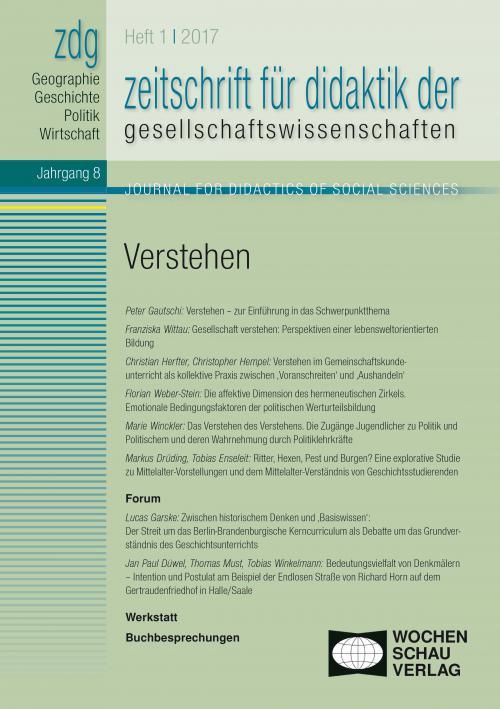 Verstehen cover
