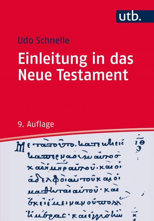 Einleitung in das Neue Testament cover