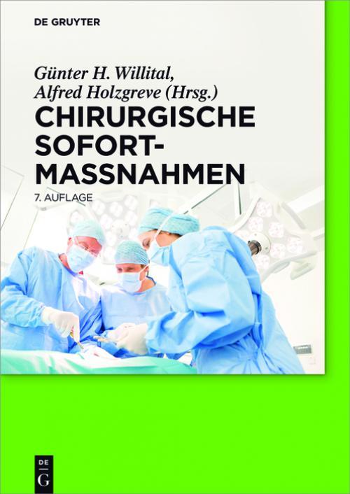 Chirurgische Sofortmaßnahmen cover