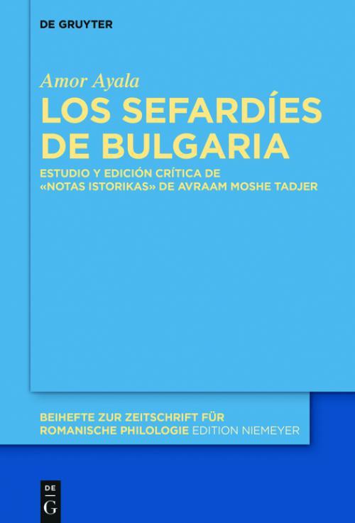Los sefardíes de Bulgaria cover
